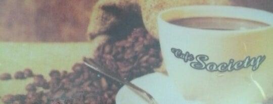 Café Society is one of Lieux sauvegardés par Sidney.