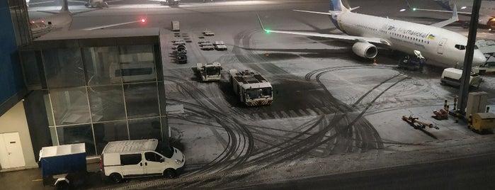 "Станція Аеропорт ""Бориспіль"" / Kyiv Boryspil Airport Railbus Station is one of Lugares favoritos de Mikhaela."
