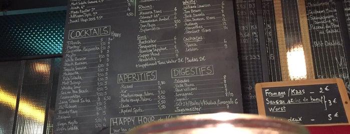 Café de l'Industrie is one of Brusselicious.
