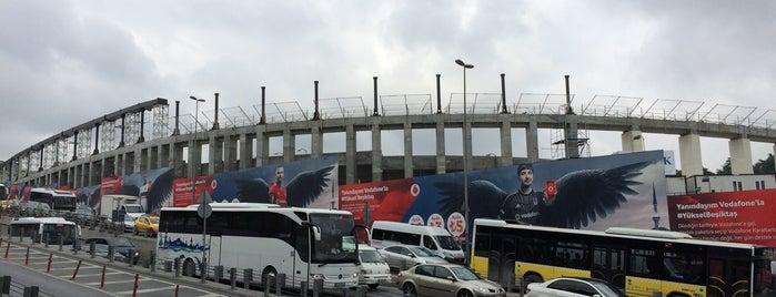 Vodafone Park is one of İstanbul Stadyum ve Futbol Sahaları.