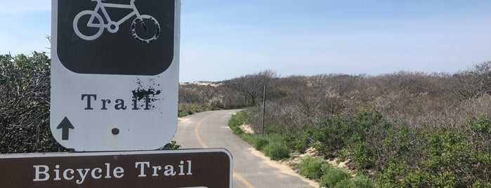 Province Lands Bicycle Trail is one of Lugares favoritos de Nate.