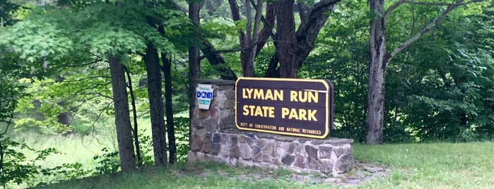 Lyman Run State Park is one of SC - To Try.
