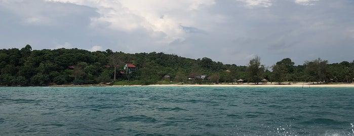 Sok San Beach (Long Beach) is one of Cambodia.