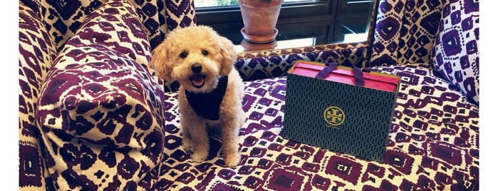 Tory Burch is one of Gems of the Upper East Side.