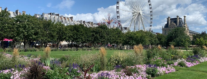Giardino delle Tuileries is one of Paris.