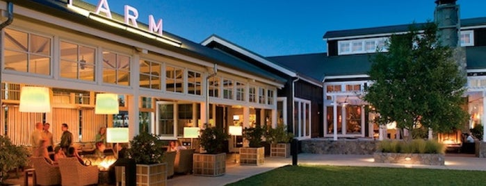 FARM, The Carneros Inn is one of Fabulous Places to Dine.