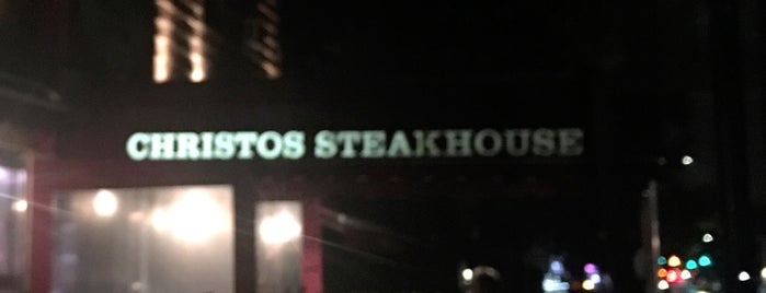 Christos Steakhouse is one of Julia 님이 저장한 장소.