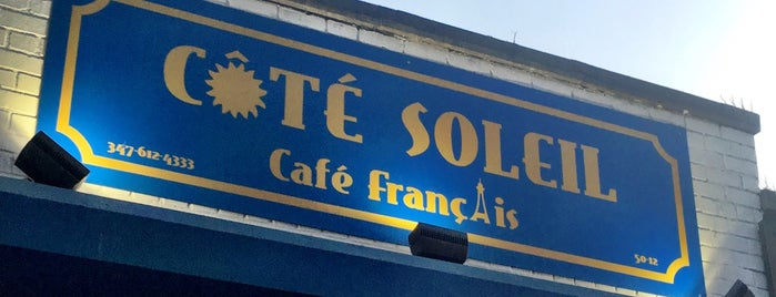 Côté Soleil is one of Queens.
