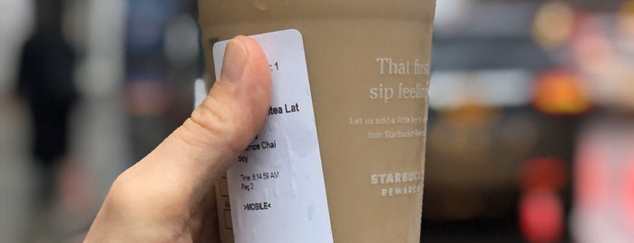 Starbucks is one of work.