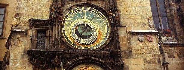 Orologio Astronomico di Praga is one of prague.