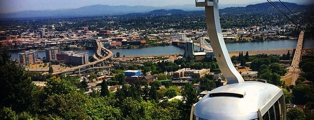 Portland Aerial Tram - Lower Terminal is one of Alex & Caitlin's Wedding Week Spectacular!.