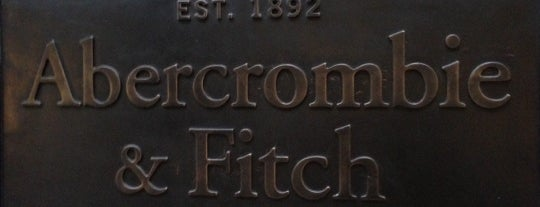 Abercrombie & Fitch is one of Hamburg 2014.