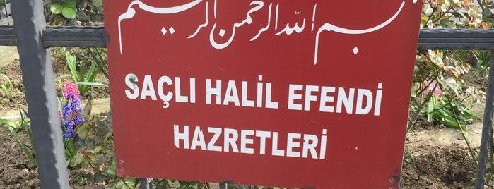 Saçlı Şeyh Halil Efendi Türbesi is one of ÜSKÜDAR_İSTANBUL.
