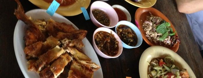 ไก่บ้านย่างเขาสวนกวาง ป๋านึก is one of Thailand Food.