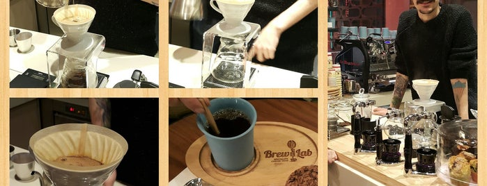 Coffee Brew Lab is one of My wine's spots.