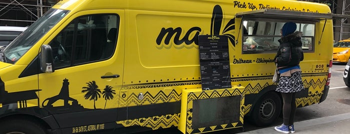 Makina Food Truck is one of Black-Owned Restaurants NYC 🌍.