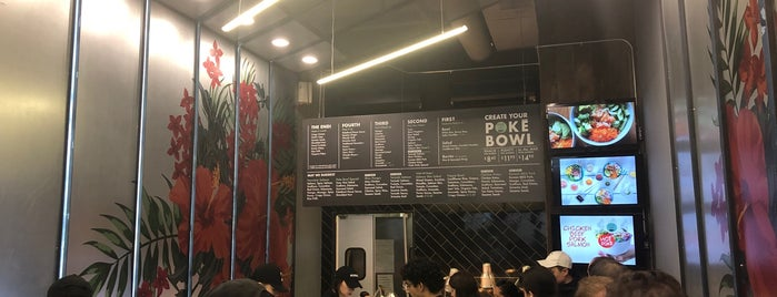 Poke Bowl is one of Locais curtidos por Caitlin.
