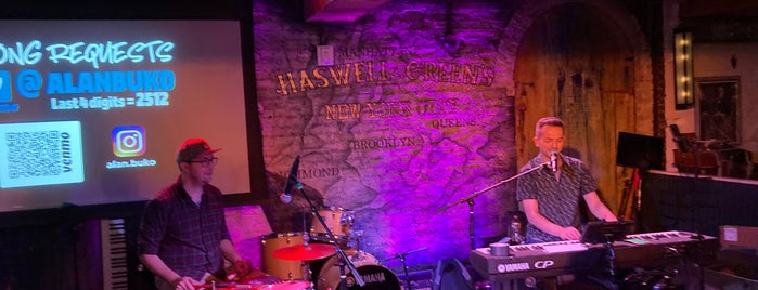 Haswell Greens is one of Bars.