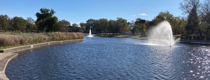 Lincoln Park Pond is one of Mandar : понравившиеся места.