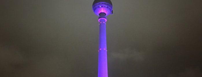 Berlin Televizyon Kulesi is one of Berlin - Lugares.