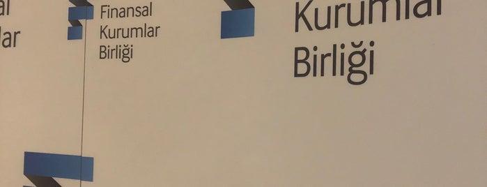 Finansal Kurumlar Birliği is one of Tempat yang Disukai Kayıhan.