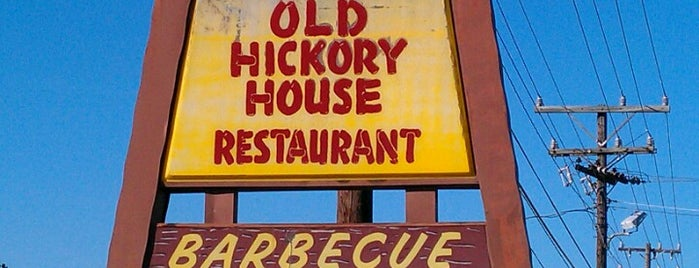Old Hickory House Restaurant is one of สถานที่ที่ Christopher ถูกใจ.