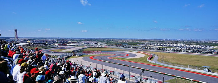 Circuit of The Americas is one of Lieux qui ont plu à Migue.