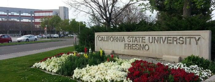 California State University, Fresno is one of Mi pelo mundo.
