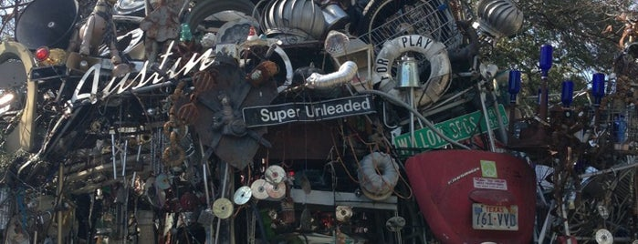 Cathedral of Junk is one of Austin - Other.