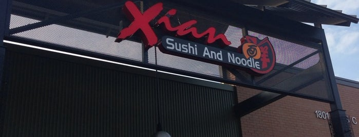 Xian Sushi & Noodle is one of Lieux qui ont plu à Josh.