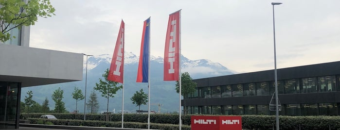 Hilti HQ is one of Locais curtidos por Hugo.
