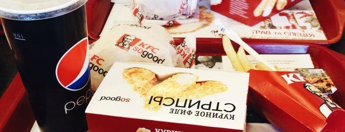 KFC is one of สถานที่ที่ Настя ถูกใจ.
