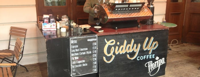 Giddy Up Floripa is one of Coffee in London.