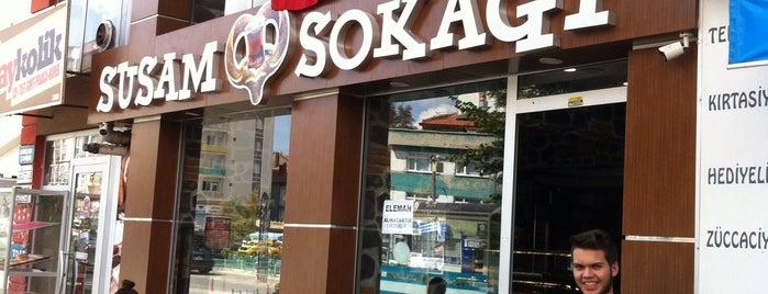 Susam Sokağı is one of สถานที่ที่บันทึกไว้ของ Emre.