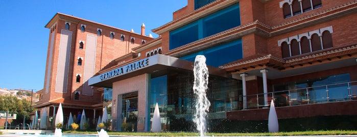Hotel Granada Palace is one of los imprescindibles.
