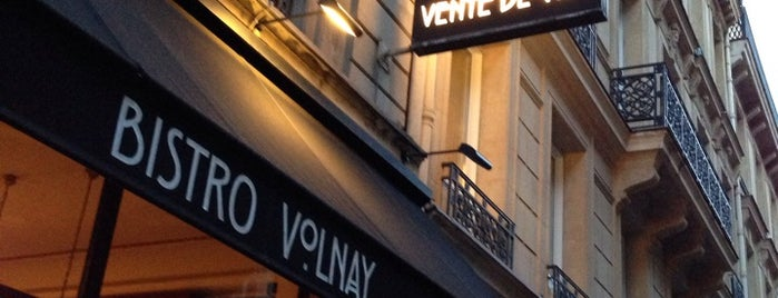 Bistro Volnay is one of Vingt adresses gourmandes à moins de 30€ à Paris.
