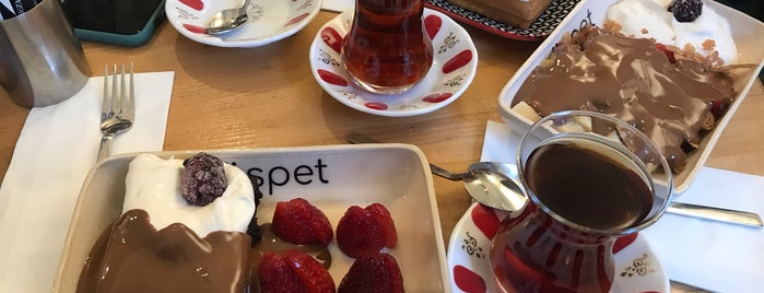 Müspet is one of İstanbul Caffe.