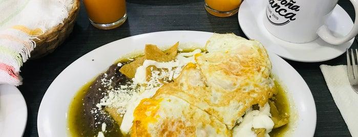Fonda Doña Blanca is one of Mexico City, Puebla, Cholula , Querétaro, Can.