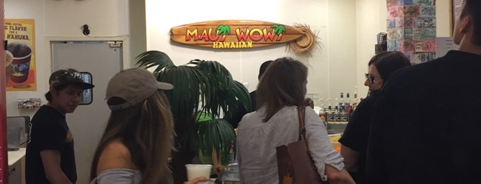 Maui Wowi Hawaiian Coffees & Smoothies at Pier 39 is one of sf food.