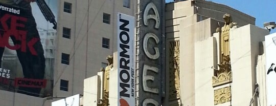 Pantages Theatre is one of SoCal Musts.