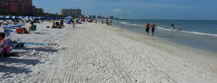 Clearwater Beach, FL is one of Stevenson Favorite US Beaches.