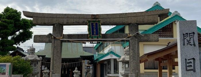 関目神社 (須佐之男尊神社) is one of 大阪市城東区.