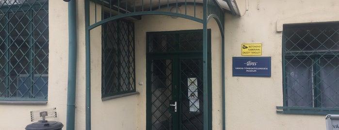 Városi Tömegközlekedési Múzeum is one of Lieux qui ont plu à P.T..
