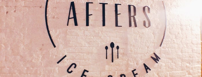 Afters Ice Cream is one of Locais salvos de Rebecca.