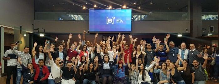 BM&FBOVESPA is one of Lieux qui ont plu à Thiago.