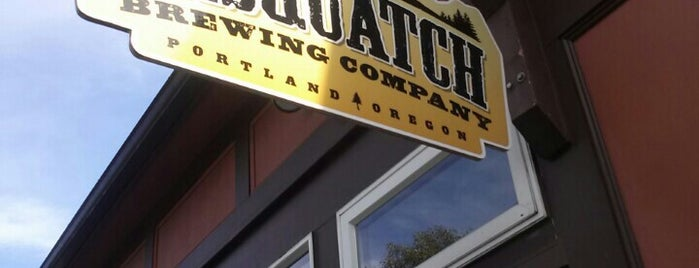 Sasquatch Brewery is one of All 53 Portland Breweries.