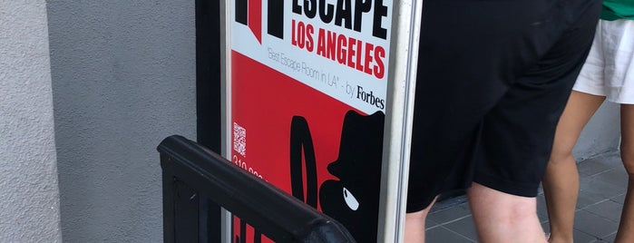 RoomEscape Los Angeles is one of La list.