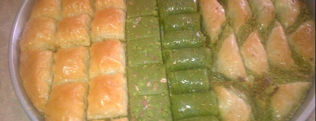 Elit Baklava is one of Gaziantep.