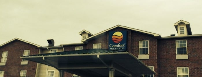 Comfort Inn & Suites is one of Charron 님이 좋아한 장소.