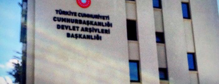 Devlet Arşivleri Genel Müdürlüğü is one of 103372 님이 좋아한 장소.